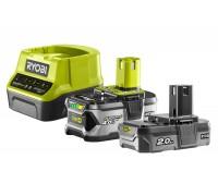 Купить ONE + / Аккумулятор (2) с зарядным устройством RYOBI RC18120-242  с доставкой в Интернет-магазин электроинсрумента - POKUPAYKA.BY