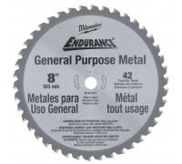 Купить Диск пильный по металлу D 203x15,8 мм Z42 для циркулярной пилы MILWAUKEE  с доставкой в Интернет-магазин электроинсрумента - POKUPAYKA.BY