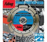 Круг алмазный Power Twister Eisen D 125х22,2х2,3 мм FUBAG 82125-3