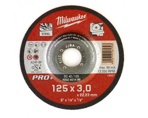 Круг отрезной по металлу D 125х3 мм SC MILWAUKEE