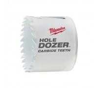 Купить Коронка биметаллическая HOLEDOZER CARBIDE D 60 мм MILWAUKEE  с доставкой в Интернет-магазин электроинсрумента - POKUPAYKA.BY