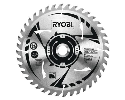 Диск для циркулярной пилы 165x16 мм RYOBI CSB165A1