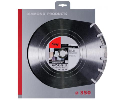 Алмазный диск (по абразивам) AP-I 350х3,0х25,4 FUBAG