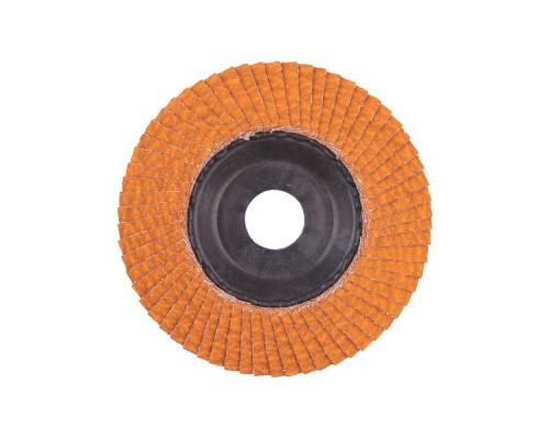 Круг шлифовальный лепестковый D 115 мм CERAMIC SLC 50/115 G80 MILWAUKEE