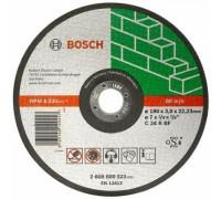 Круг отрезной по камню D 180x3x22,2 мм Bosch