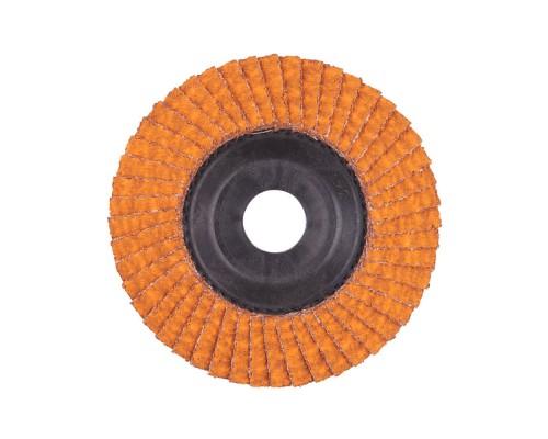 Круг шлифовальный лепестковый D 115 мм CERAMIC SLC 50/115 G40 MILWAUKEE