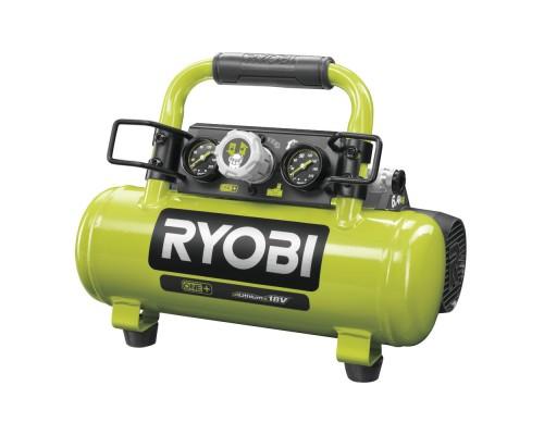 ONE + / Компрессор безмасляный коаксиальный аккумуляторный RYOBI R18AC-0 (без батареи)