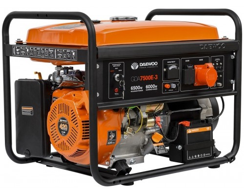 Генератор бензиновый DAEWOO GDA 7500Е-3