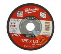 Купить Круг отрезной по металлу SCS D 125х1 мм (200 шт.) MILWAUKEE  с доставкой в Интернет-магазин электроинсрумента - POKUPAYKA.BY
