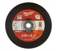Купить Круг шлифовальный по металлу D 230мм/6 мм SG 27/230 MILWAUKEE  с доставкой в Интернет-магазин электроинсрумента - POKUPAYKA.BY