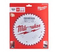 Купить Диск пильный по дереву D 184х30х1,8 мм 48Z для циркулярной пилы MILWAUKEE  с доставкой в Интернет-магазин электроинсрумента - POKUPAYKA.BY
