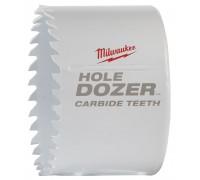 Купить Коронка биметаллическая HOLEDOZER CARBIDE D 67 мм MILWAUKEE  с доставкой в Интернет-магазин электроинсрумента - POKUPAYKA.BY
