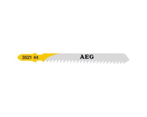 Пилка для лобзика (по дереву) AEG T111C 75х3,0 (5 шт.)