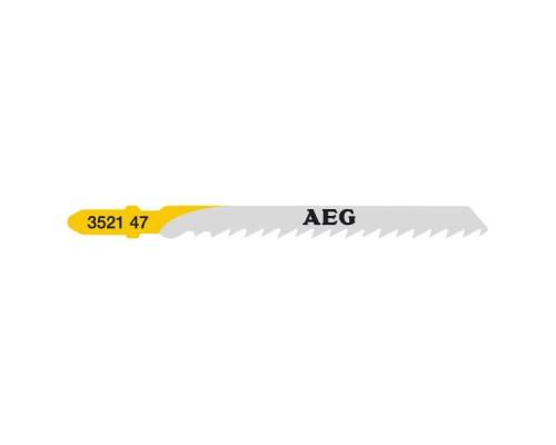 Пилка для лобзика (по дереву) AEG T144D 75х4,0 (5 шт.)