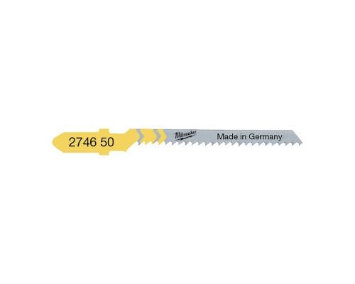 Пилка для лобзика (по дереву) MILWAUKEE T119BO 50х2 мм (5 шт.)