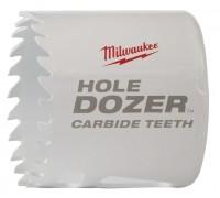 Купить Коронка биметаллическая HOLEDOZER CARBIDE D 51 мм MILWAUKEE  с доставкой в Интернет-магазин электроинсрумента - POKUPAYKA.BY