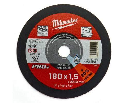 Круг отрезной по металлу D 180х1,5 мм SCS 41/180 MILWAUKEE