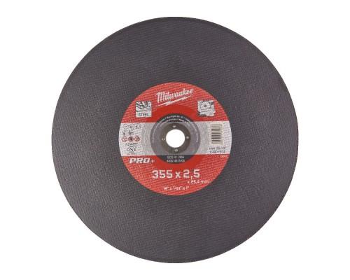 Диск отрезной по металлу D 355х2,5 мм SC41 MILWAUKEE