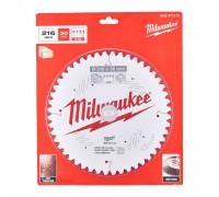 Купить Диск пильный по дереву D 216х30х2,4 мм 48Z для торцовочной пилы MILWAUKEE  с доставкой в Интернет-магазин электроинсрумента - POKUPAYKA.BY