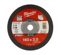 Купить Круг отрезной по металлу D 180х3 мм SC 41/180 MILWAUKEE  с доставкой в Интернет-магазин электроинсрумента - POKUPAYKA.BY