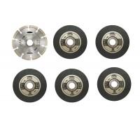 Набор кругов для УШМ 125 мм RYOBI RAK6AGD125 (6 шт.)