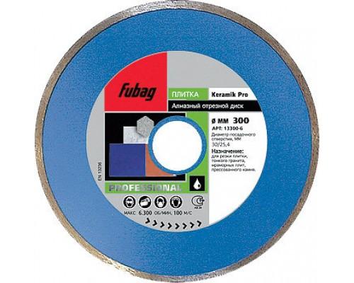 Алмазный диск (по керамике) Keramik Pro 300x30/25,4x3,2 FUBAG