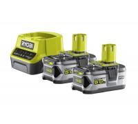 Купить ONE + / Аккумулятор (2) с зарядным устройством RYOBI RC18120-250  с доставкой в Интернет-магазин электроинсрумента - POKUPAYKA.BY