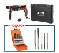 Перфоратор AEG KH 28 SUPER XEK KIT4