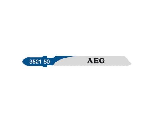 Пилка для лобзика (по металлу) AEG T118A 55x1,2 мм (5 шт.)