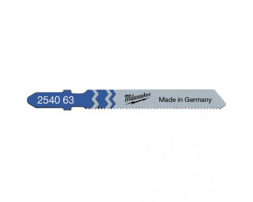 Пилка для лобзика (по металлу) MILWAUKEE T 118 A 55x1,2 мм