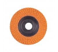 Купить Круг шлифовальный лепестковый D 115 мм CERAMIC SLC 50/115 G60 MILWAUKEE  с доставкой в Интернет-магазин электроинсрумента - POKUPAYKA.BY