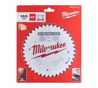 Купить Диск пильный по дереву D 165х15,87х1,6 мм 40Z для циркулярной пилы MILWAUKEE  с доставкой в Интернет-магазин электроинсрумента - POKUPAYKA.BY