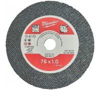 Купить Круг отрезной по металлу D 76х1 мм SCS (5 шт.) MILWAUKEE  с доставкой в Интернет-магазин электроинсрумента - POKUPAYKA.BY