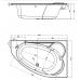 Купить Ванна акриловая Cersanit Kaliope 170x110