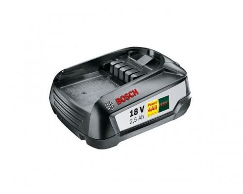 Аккумулятор BOSCH PBA 18V 18.0 В, 2.5 А/ч, Li-Ion (для инструмента DIY) (1600A005B0)
