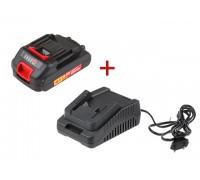 Аккумулятор WORTEX CBL 1820 +АКЦИЯ! (зарядное CFC 2115-1 в комплекте!) (-15% на комплект!) (CBL18200003A2)