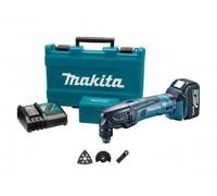 Аккум. многофункциональный инструмент (реноватор) MAKITA DTM 50 RFE в чем. (18.0 В, Li-Ion, 2 акк., 3.0 А/ч, 21000 об/мин) (DTM50RFE)