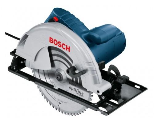 Циркулярная пила BOSCH GKS 235 Turbo в кор. (2050 Вт, 235х25 мм, до 85 мм) (06015A2001)