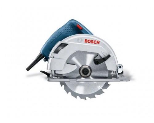 Циркулярная пила BOSCH GKS 600 в кор. (1200 Вт, 165х20 мм, до 55 мм) (06016A9020)
