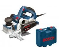 Рубанок электрический BOSCH GHO 40-82 C в чем. (850 Вт, шир. до 82 мм, глуб. до 4 мм) (060159A760)