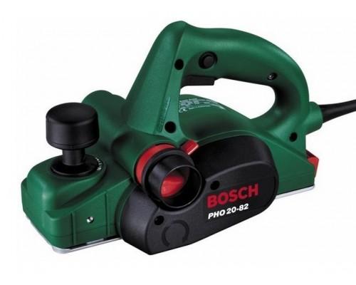 Рубанок электрический BOSCH PHO-20-82 в кор. (680 Вт, шир. до 82 мм, глуб. до 2 мм) (0603365181)