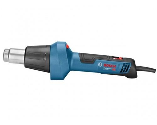 Термовоздуходувка BOSCH GHG 20-60 в кор. (2000 Вт, 2 скор., 50-600 °С, плавн. рег.,150-300/300-500 °С) (06012A6400)