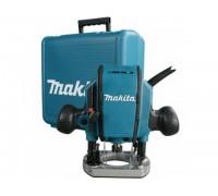 Фрезер вертикальный MAKITA RP 0900 K в чем. (900 Вт, цанга 8 мм, 27000 об/мин) (RP0900K)