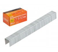 Скобы тип 20GA 13мм (5000шт) STARTUL PROFI (ST4530-13) (для пневмостеплера, сечение 1,2х0,6мм; ширина скобы 11,2мм)
