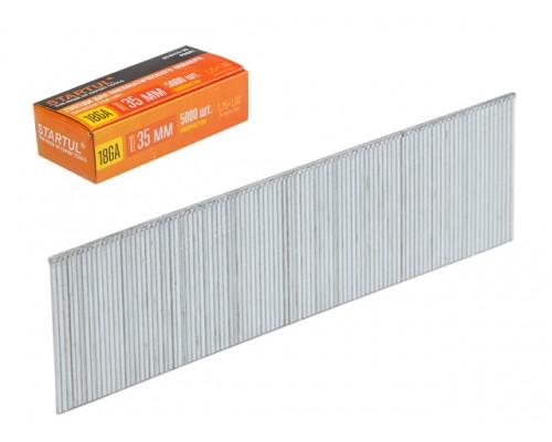 Гвозди тип 18GA 30мм (5000шт) STARTUL PROFI (ST4515-30) (для пневмостеплера, сечение 1,25х1,00мм)