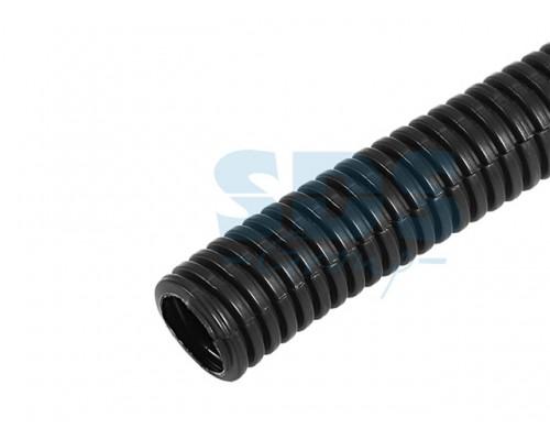 Трубa автомобильная гофрированная ПП d6,8 мм, разрезная, (бухта 10 м/уп.) (REXANT)