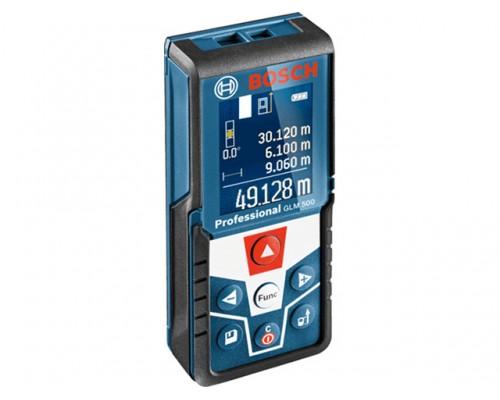 Дальномер лазерный BOSCH GLM 500 в кор. (0.05 - 50 м, +/- 2 мм/м, IP 54)