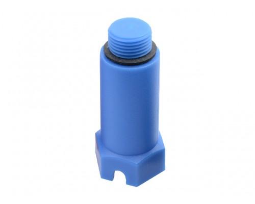 Заглушка монтажная 1/2 синяя (в уп. 50 шт) (ЮстаПласт)