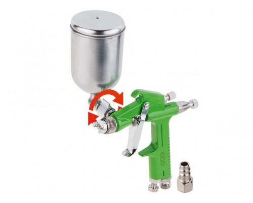 Краскораспылитель ECO SG-1500 (HVLP, сопло ф 1.0 мм, поворотн. бак 200 мл)