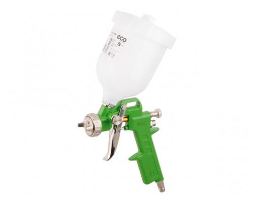 Краскораспылитель ECO SG-1000 (HVLP, сопло ф 2.5 мм, верх. бак 600 мл)